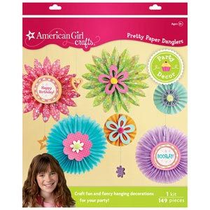 American Girl Crafts Pretty Paper Danglers