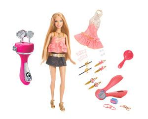 Barbie Totally Hair Color It! Dolls