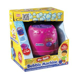 No-Spill Bubble Machine