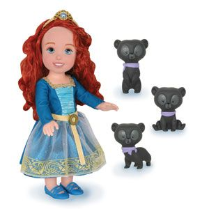 Disney/Pixar's Brave Merida with Bear Brothers