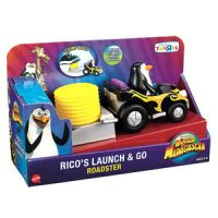 World of Madagascar Rico's Launch & Go Roadster