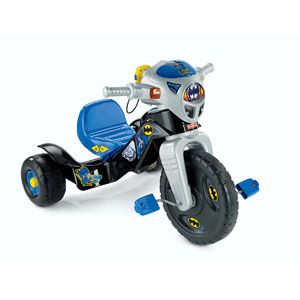 DC Super Friends Batman Lights & Sounds Trike