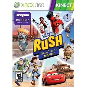 Kinect Rush A Disney/Pixar Adventure