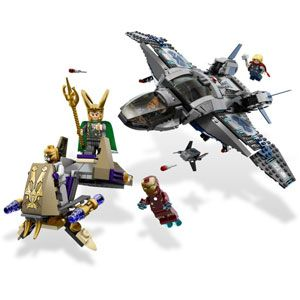 Marvel Superheroes Quinjet Aerial Battle