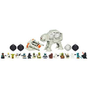 Star Wars Fighter Pods Snowspeeder vs. AT-AT