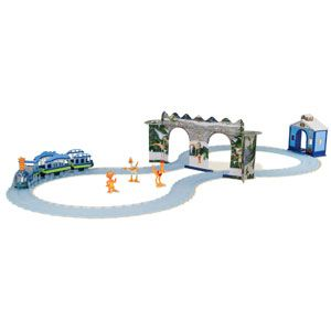 Dinosaur Train Arctic Adventure Motorized Train Set