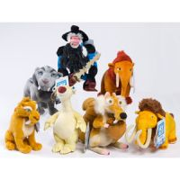 Ice Age 4: Continental Drift Bean Bag Stuffed Animals