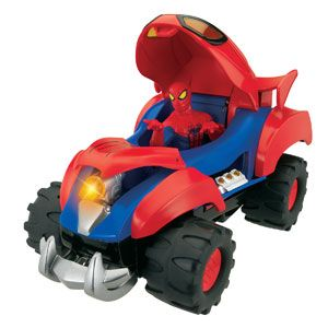 The Amazing Spider-Man Transforming Battle Vehicle