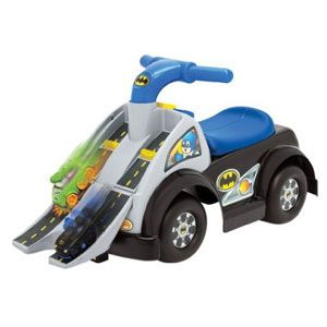 Fisher-Price Little People Wheelies Batman Raceway Ride-On