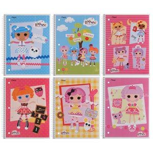 Lalaloopsy Folders & Notebooks