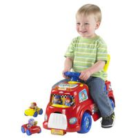 Fisher-Price Little People Race Day Playset Ride-On