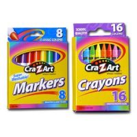 Cra-Z-Art Markers and Crayons
