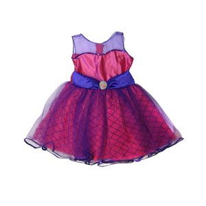Pink Sequin Princess Dress