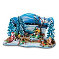 Forest Winter Wonderland Advent Calendar