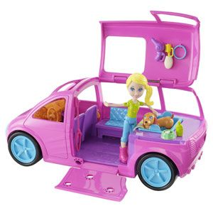 Polly Pocket Cruisin' Pet Spa