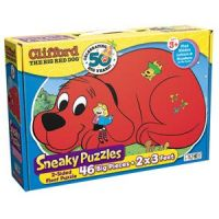 Sneaky Puzzles Clifford the Big Red Dog