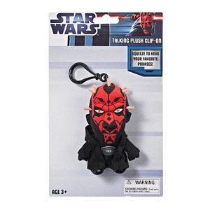 Star Wars Talking Plush Clip-Ons