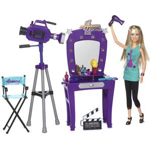 Hannah Montana Making Hannah's Video Playset with Doll