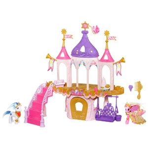 My Little Pony Friendship is Magic Pony Princess Wedding Castle