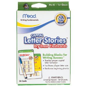 Letter Stories Flashcards