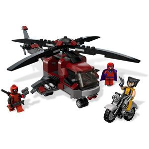 LEGO Marvel Superheroes Wolverine's Chopper Showdown