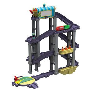 Chuggington Die-Cast Wilson's Wild Ride Deluxe Action Playset