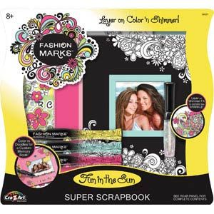 Fashion Marks Fun in the Sun Super Scrapbook