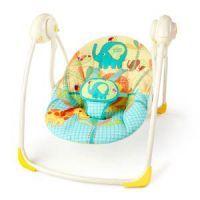 Bright Starts Sunnyside Safari Portable Swing