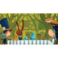 Justin Hillgrove Mad Tea Party Wooden Jigsaw Puzzle