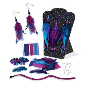 Feather Fashion Accessory Kit