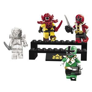 Power Rangers Super Samurai Battle Pack II