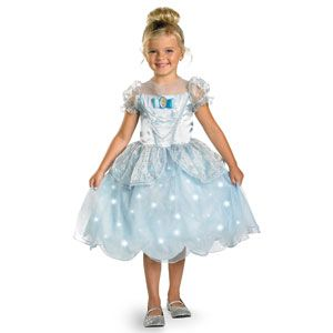 Cinderella Light-Up Deluxe Costume