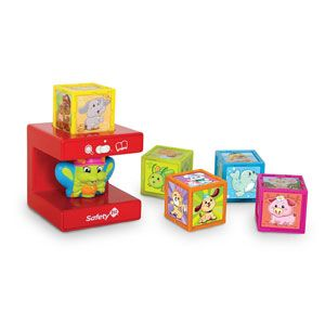 Safety 1st Cubikals My 1st Learning Cubes Animal Friends