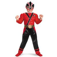 Power Rangers Samurai Red Ranger Toddler Costume