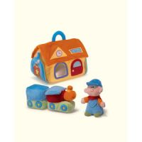 Bright Beginnings Activity Train Playset
