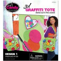 Craft Candy 3D Graffiti Tote