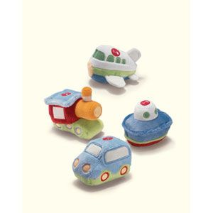Bright Beginnings Squeeze n' Sound Vehicles