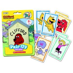 Clifford the Big Red Dog Pair Up Card Game
