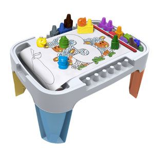 Block Crayon 3-in-1 Activity Table