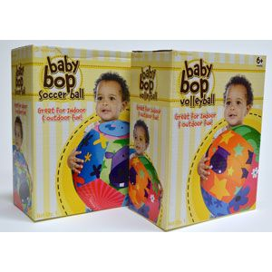 Baby Bop Soccer Ball & Volleyball