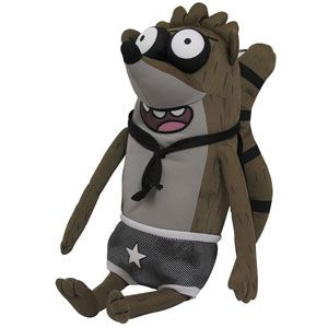 Regular Show Rigby Wrestling Buddy