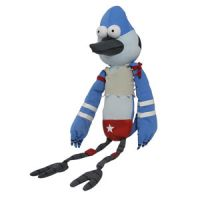 Regular Show Mordecai Wrestling Buddy