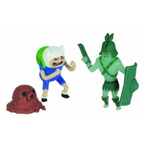 Adventure Time Finn and Gladiator Ghost 2-inch Pack