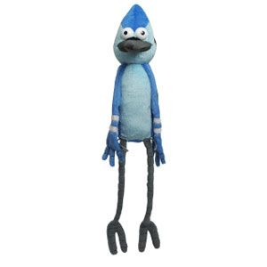 Regular Show Mordecai with Talking Action
