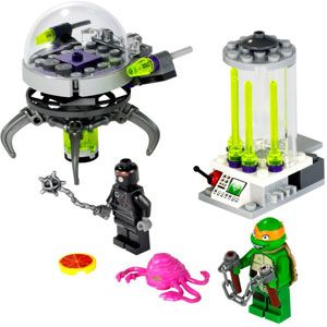 Teenage Mutant Ninja Turtles Kraang Lab Escape