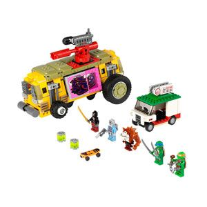 Teenage Mutant Ninja Turtles The Shellraiser Street Chase