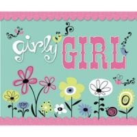 Robin Zingone Girly Girl Scrapbook Activity Book