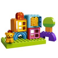 LEGO Duplo Toddler Build and Play Cubes