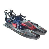 G.I. JOE: Retaliation COBRA Fang Boat with Torpedo Launcher