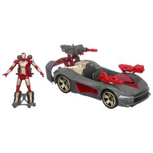 Marvel Iron Man 3 Avengers Initiative Assemblers Battle Vehicle